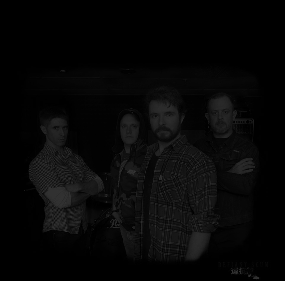 Defiant Scum Band Photo