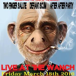 Punk Monkey Gig at The Wanch - 18th March 2016